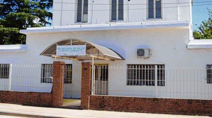 secretaría. El área de Salud de Villa G. Gálvez