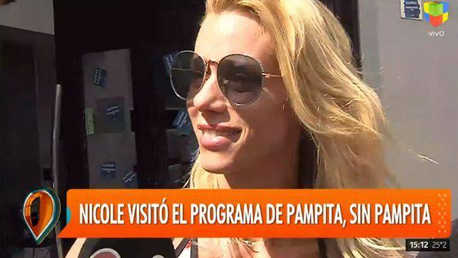 Nicole Neumann confirmó que fue engañada para ir al programa de Pampita