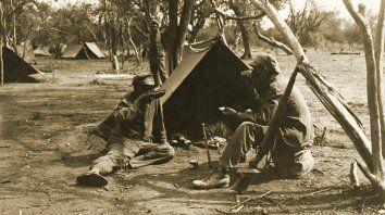 Una imagen de la cruenta guerra del Chaco.