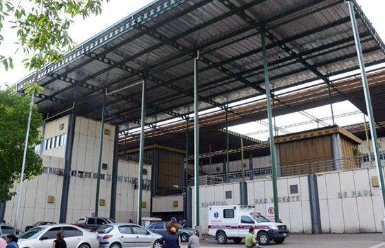 Tanto el hijo como el padre fueron derivados al Hospital San Vicente de Paul en la misma ambulancia