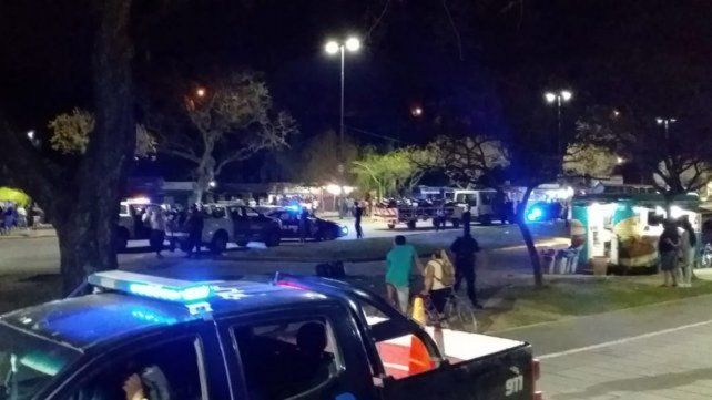 Control. Móviles de seguridad concurrieron a La Florida.
