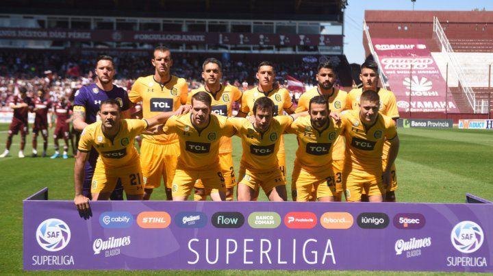 El equipo. Central empató en la Fortaleza ante Lanús el pasado domingo. La mayoría de los apellidos actuará ante Vélez.