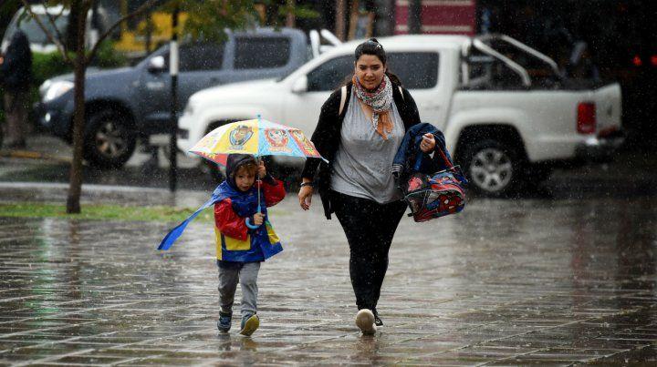 El sur de Santa Fe se encuentra bajo alerta por fuertes tormentas