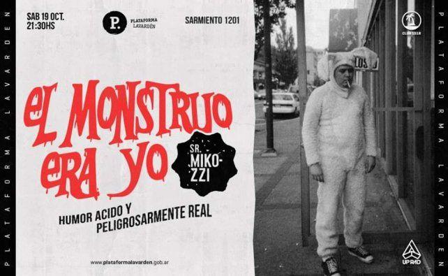 Pablo Micozzi presenta El monstruo era yo en la Lavarden