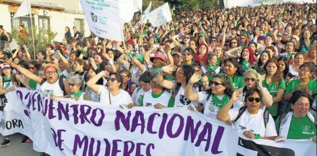 Por el mal tiempo suspenden el acto de Apertura del Encuentro Nacional de Mujeres