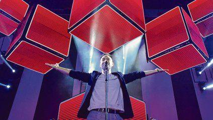 Récord. El cantante cerró el 2018 con un show en Vélez ante 35 mil personas y este año lleva realizados más de 5 Luna Park. En Rosario hará dos funciones.