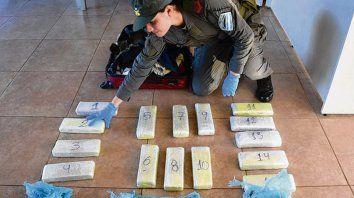 marihuana. La joven había salido de Puerto Iguazú con 15 panes de droga.