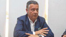 Cuentas claras. El tesorero Adrián Raguza expuso los números de la tesorería canalla.