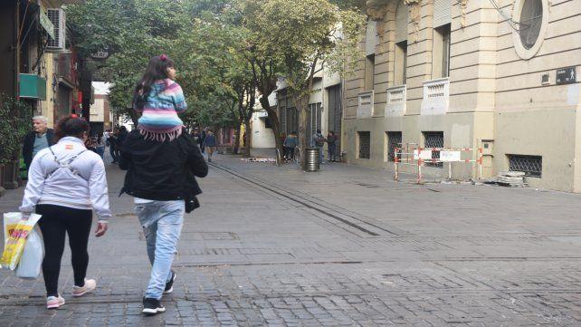 Buscan revitalizar el primer tramo de peatonal Córdoba