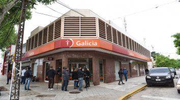 San Martín al 5100. El atraco ocurrió el 12 de octubre del año pasado.