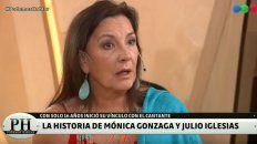 Mónica Gonzaga recordó su romance con Julio Iglesias
