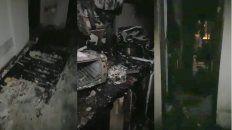El incendio se registró en un quinto piso, en 3 de Febrero al 500.
