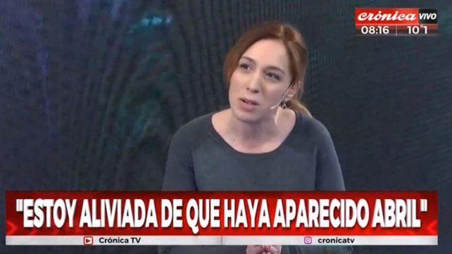 Vidal pidió revaluar la decisión judicial de otorgar la tenencia de Abril a su madre