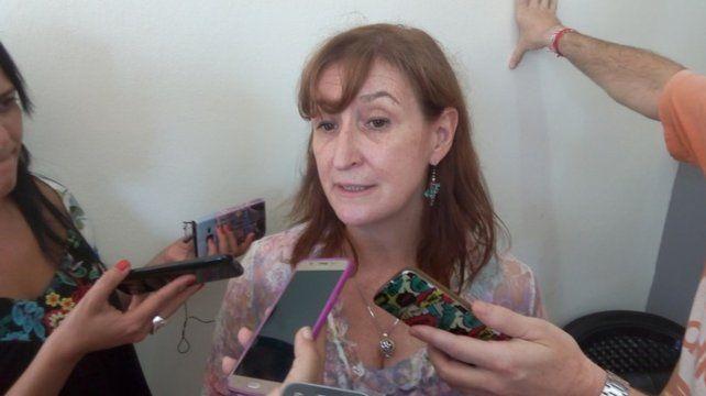 La ministra de Salud, Andrea Uboldi.