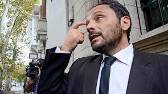 Spelta(foto) acusó a Aguirre como autor del homicidio agravado por el uso de arma de fuego en perjuicio de Claudio Gastón Moncho Fleites.