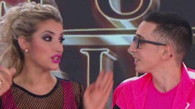 Noya y  Bianca Iovenitti participaron en el Súper Bailando