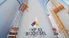Precio. El valor del biodiesel en Argentina medido en dólares cayó a u$s 602 la tonelada, el mínimo en tres años.