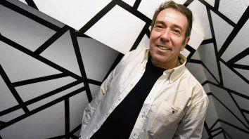 Periodista y actor. El multifacético Alejandro Veroutis.