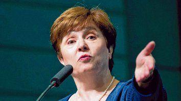 La nueva. Estaremos muy interesados en ver cuál es el esbozo de política, dijo Kristalina sobre Argentina.