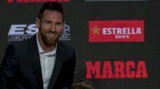 Messi, los límites y los gustos en casa