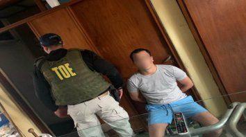 Fin de carrera. Laferrara fue detenido en una vivienda familiar.