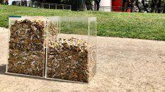 Voluntarios recogieron 40 mil colillas de cigarrillos
