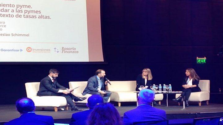 Panel. Referentes de entidades financieras disertaron en la Expo Inversiones 2019.