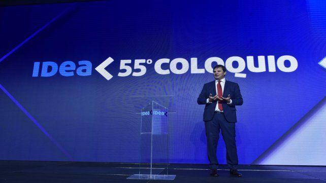 El presidente del Instituto para el Desarrollo Empresarial Argentino (Idea)