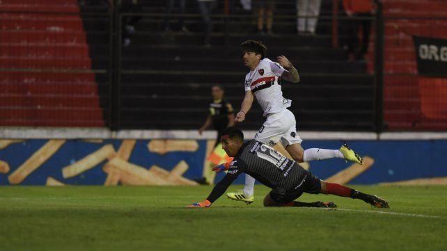El Gato volvió tras la lesión en la rodilla y metió un golazo que selló el marcador.