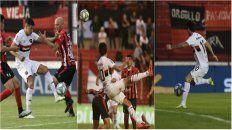Salinas la picó ante la salida de Ibáñez. Albertengo conecta el centro de Bíttolo. Formica ingresó y la primera que tocó fue para el 3-0.