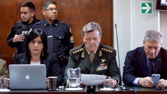 Enjuiciado. El ex jefe del Ejército César Milani.