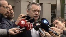 alberto fernandez dijo que no quiso maltratar a un periodista