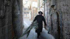 Jerusalén. La calle fue construida hace dos mil años.