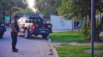 En Baigorria. Uno de los hechos que le imputarán a Laferrara es el triple homicidio cometido en abril del año pasado.