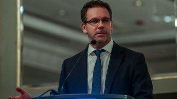 Máxima tensión. El presidente del BCRA, Guido Sandleris, enfrenta una semana crucial.