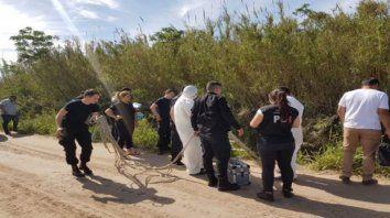 El cuerpo de Ana María fue hallado el sábado al mediodía en un zanjón unos 15 kilómetros al norte de Santa Fe.