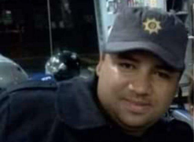 El agente del Comando Radioeléctrico, Marcos Di Fazio, murió tras ser atropellado en un control de tránsito.