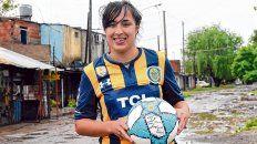 erica lonigro, la gran goleadora de las chicas de central