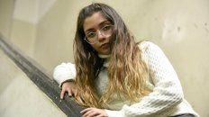 La adolescente escribe canciones de rap para concientizar sobre el bullying.