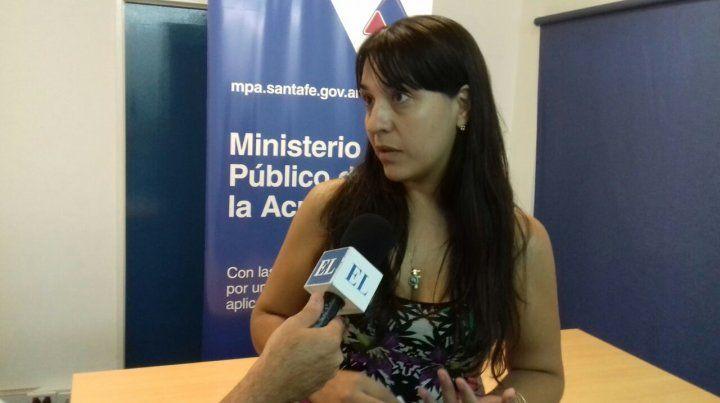 La fiscal. Del Río Ayala tuvo a su cargo la investigación del caso.