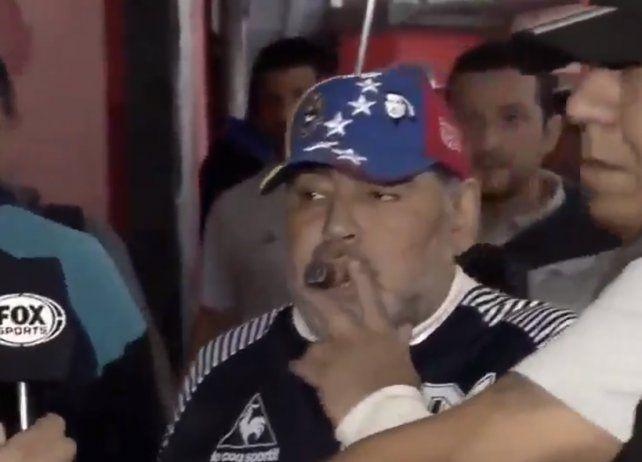 Maradona, a un paso de dejar Gimnasia