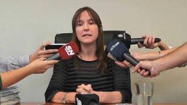 Jueza de Ejecución Penal Luciana Prunotto.
