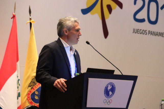 Adrián Ghiglione, secretario de Deporte y Turismo, un funcionario que fue ratificado por Javkin.