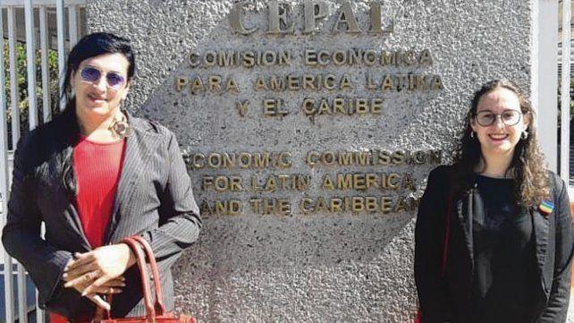 Morena García y Celina Mondelli