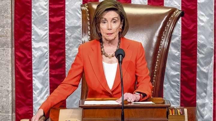 poder. Nancy Pelosi