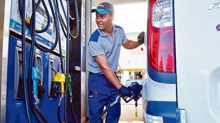 sin freno. El aumento del combustible es el séptimo ajuste del año