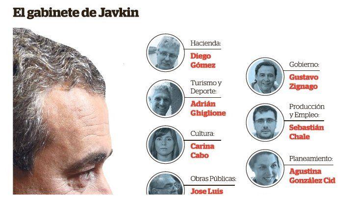 Javkin presenta su gabinete con pocos socialistas y paridad de género