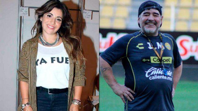 El extraño mensaje de Giannina Maradona que generó preocupación