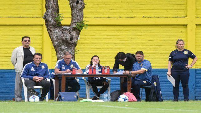 Siguen las pruebas en la selección argentina de mujeres