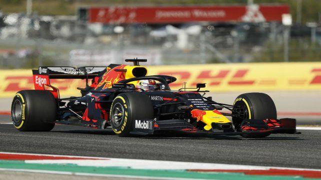 El piloto del equipo Red Bull dominó en el circuito de Austin.